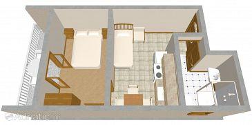 Apartment A-488-d - Apartments Pirovac (Šibenik) - 488