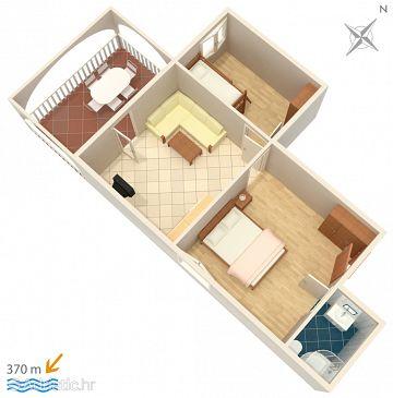 Apartment A-4886-a - Apartments Vinišće (Trogir) - 4886