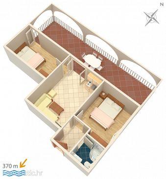 Apartment A-4886-b - Apartments Vinišće (Trogir) - 4886