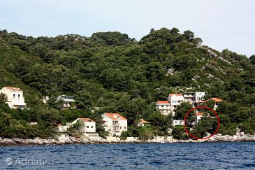 Sobra, Mljet, Property 4888 - Apartments and Rooms blizu mora.