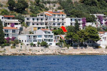 Obiekt Drvenik Gornja vala (Makarska) - Zakwaterowanie 4890 - Apartamenty ze żwirową plażą.