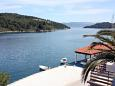 Balcony - view - Room S-4909-d - Apartments and Rooms Polače (Mljet) - 4909