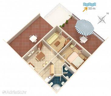 Apartment A-4932-a - Apartments Saplunara (Mljet) - 4932