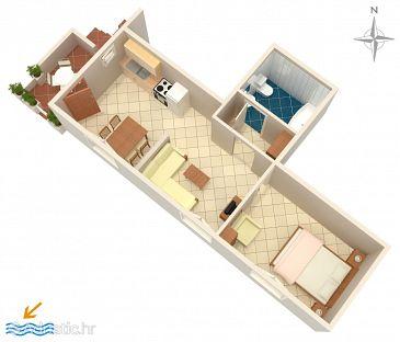 Apartment A-4968-b - Apartments Banjol (Rab) - 4968