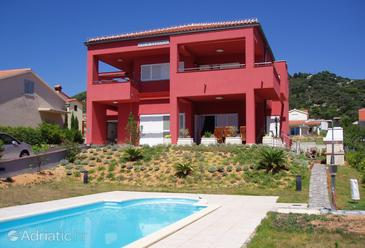 Property Barbat (Rab) - Accommodation 4980 - Apartments near sea with pebble beach.