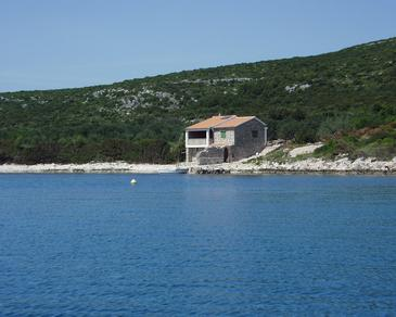 Property Uvala Soline (Pašman) - Accommodation 499 - Vacation Rentals near sea with rocky beach.