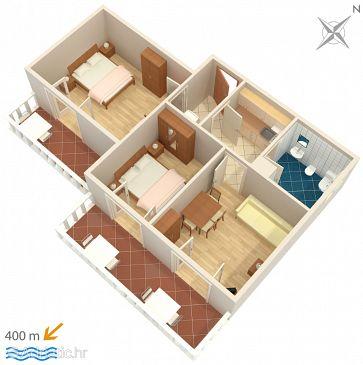 Apartment A-5015-a - Apartments Barbat (Rab) - 5015