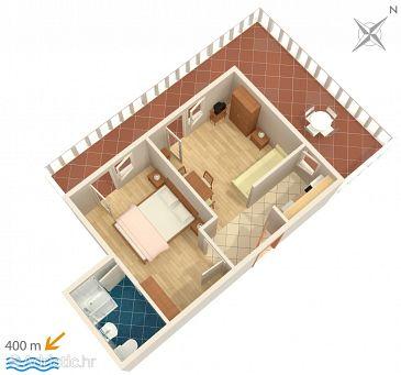 Apartment A-5015-b - Apartments Barbat (Rab) - 5015