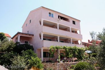 Property Barbat (Rab) - Accommodation 5070 - Apartments and Rooms with pebble beach.