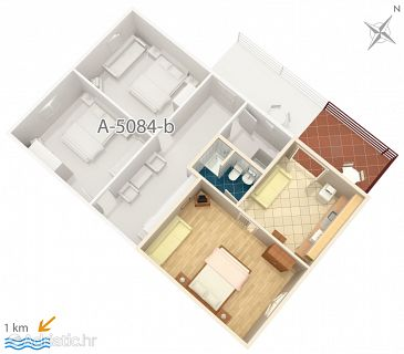 Apartment A-5084-a - Apartments Murter (Murter) - 5084