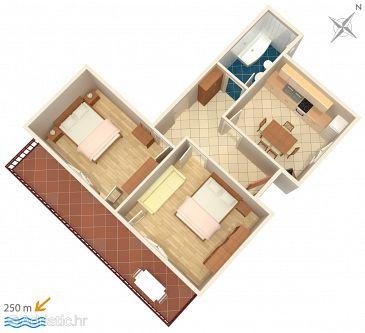 Apartment A-5093-a - Apartments Jezera (Murter) - 5093
