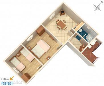Apartment A-5093-b - Apartments Jezera (Murter) - 5093