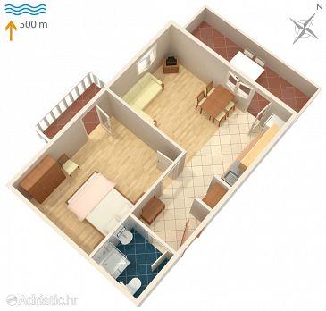Apartment A-5099-b - Apartments Murter (Murter) - 5099