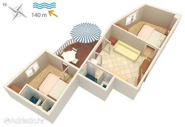 Apartment A-5120-b - Apartments Jezera (Murter) - 5120