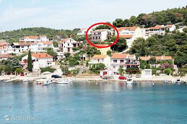 Property Tisno (Murter) - Accommodation 5128 - Apartments and Rooms near sea with pebble beach.
