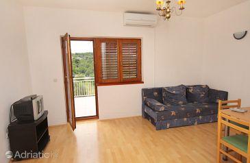 Jezera, Living room u smještaju tipa apartment, dostupna klima, dopusteni kucni ljubimci i WIFI.