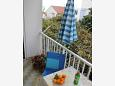 Balcony - Studio flat AS-515-a - Apartments Podaca (Makarska) - 515