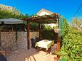Courtyard Slatine (Čiovo) - Accommodation 5158 - Apartments with pebble beach.