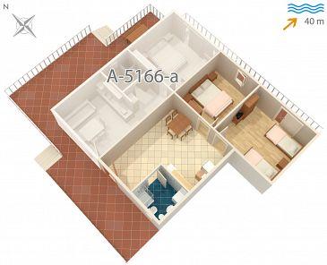 Apartament A-5166-b - Apartamenty Rogač (Šolta) - 5166