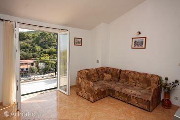 Uvala Donja Kruščica, Living room u smještaju tipa apartment, WIFI.