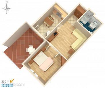 Apartment A-522-d - Apartments Mandre (Pag) - 522