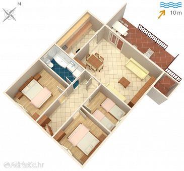 Apartment A-5220-a - Apartments Arbanija (Čiovo) - 5220