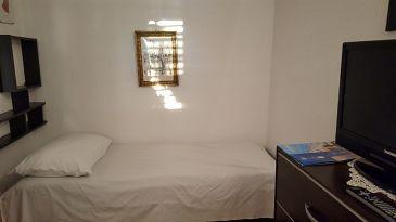 Uvala Pokrivenik, Pokój dzienny w zakwaterowaniu typu apartment, dostupna klima i dopusteni kucni ljubimci.