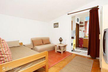 Podstrana, Living room u smještaju tipa apartment, WIFI.