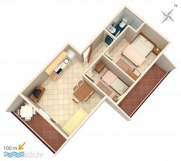 Apartment A-5229-b - Apartments Vinišće (Trogir) - 5229