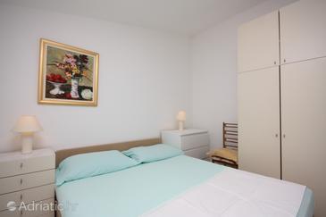 Makarska, Bedroom u smještaju tipa room, dopusteni kucni ljubimci i WIFI.