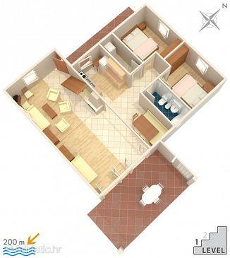 Apartment A-524-a - Apartments Mandre (Pag) - 524