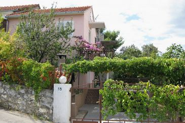 Property Seget Vranjica (Trogir) - Accommodation 5240 - Apartments near sea with pebble beach.