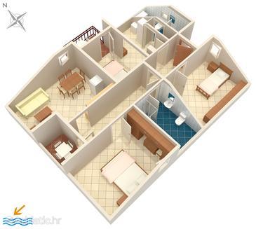 Apartment A-5244-e - Apartments Okrug Donji (Čiovo) - 5244