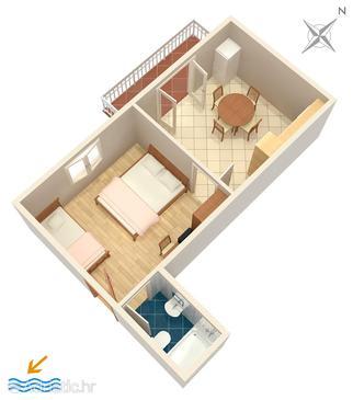 Apartment A-5246-b - Apartments Omiš (Omiš) - 5246