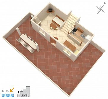 Apartament A-5257-a - Apartamenty Rastići (Čiovo) - 5257