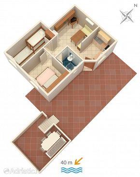 Apartment A-5257-b - Apartments Rastići (Čiovo) - 5257