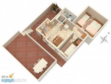 Apartment A-5257-c - Apartments Rastići (Čiovo) - 5257