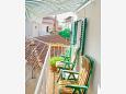 Balcony - House K-5258 - Vacation Rentals Rogoznica (Rogoznica) - 5258