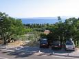Parking lot Tučepi (Makarska) - Accommodation 5263 - Rooms with pebble beach.