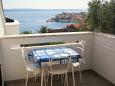 Terrace 2 - Apartment A-5266-a - Apartments Igrane (Makarska) - 5266