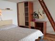 Bedroom - Studio flat AS-5266-a - Apartments Igrane (Makarska) - 5266