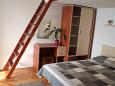 Bedroom - Studio flat AS-5266-b - Apartments Igrane (Makarska) - 5266