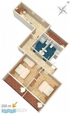 Apartment A-5281-b - Apartments Medići (Omiš) - 5281