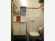 Jadranovo, Bathroom u smještaju tipa apartment, WIFI.