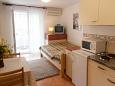 Bedroom - Studio flat AS-5289-a - Apartments Malinska (Krk) - 5289