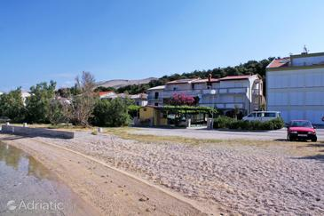 Property Pag (Pag) - Accommodation 529 - Apartments near sea with sandy beach.