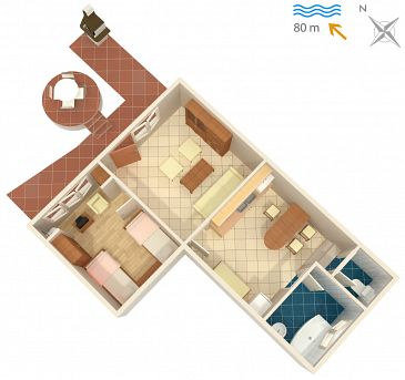 Apartment A-5290-b - Apartments Malinska (Krk) - 5290