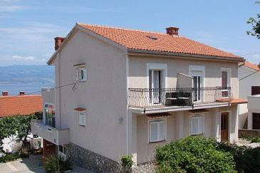 Property Vrbnik (Krk) - Accommodation 5299 - Apartments and Rooms with pebble beach.