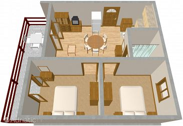 Apartment A-530-a - Apartments Pag (Pag) - 530