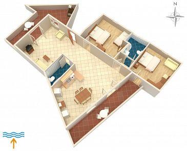 Apartament A-5302-a - Kwatery Vrbnik (Krk) - 5302